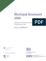 Municipal Scorecard Mexico 2008 Web