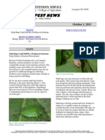 Kentucky Pest News, October 1, 2013