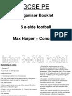organiser booklet - max  conor