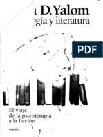 Yalom, Irvin D. - Psicologia y Literatura. El viaje de la psicoterapia a la ficción