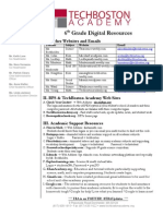 digital resources flyer