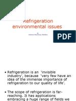Refrigeration Environmental Problem