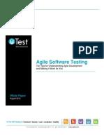 uTest Whitepaper Agile Testing