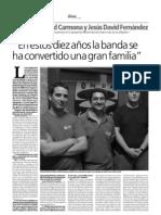 Entrevista A.M. Los Afligidos