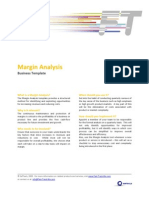 FTM Business Template - Margin Analysis