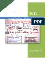 Programa Analítico Mod 18