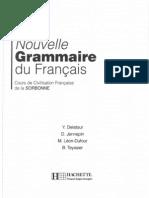Nouvelle Grammaire du Francais - cours de civilisation française de la Sorbonne
