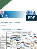 MAGNA Global Emerging Media Forecast June 2007