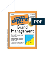 The Complete Idiots Guide to Brand Management