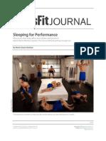 Crossfit - How Important is Sleep