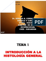clase 1 INTRODUCCIÓN HISTOLOGY