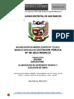 Bases Muni Distrital de San Marcos