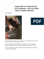 Could Your Compost Kill You