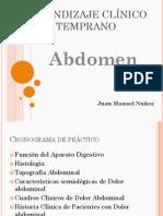 Abdomen Semiologia