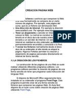 Creacion Pagina Web
