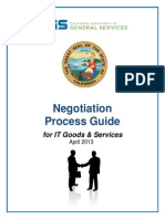 CA DGS - IT Purchase Negotiation Process Guide