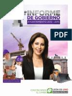 INFORME DE GOBIERNO - BÁRBARA BOTELLO