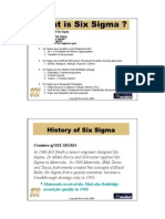 History of 6 Sigma
