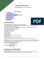 Anatomia Humana General
