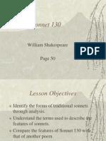 Shakespeare - Sonnet 130 PP