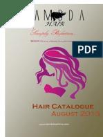 August Hair Catalogue