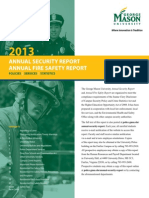George Mason University 2013 Annual Security Report
