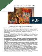 Die 37 Übungen eines Bodhisattvas - von Gyalse Thogme Sangpo