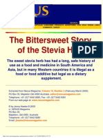 Nexus Magazine, Vol 10, N°2 (Feb 2003) - Jenny Hawke - The Bittersweet Story of the stevia Herb