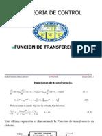 Control Funcion de Transferencia 2.1