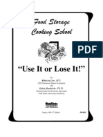 Food Storage Cooking School - FN503
