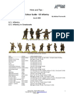 USA Infantry Colours