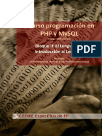 PHP Bloque2 1 Introduccion