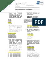 Atividade Fundamentos de Redes (Gabarito)