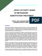Survey 40 Years Substitution Methadone