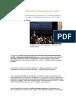 22-08-2013 Puebla Noticias - Inaugura Moreno Valle jornada de capacitación para alcaldes electos