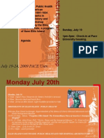 NEH Ellis Island Workshop Agenda