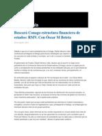 22-08-2013 Grupo Fórmula - Buscará Conago estructura financiera de estados, RMV.