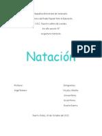 Trabajo de Natacion