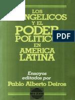 Los Evangelicos y El Poder Politico en Am Lat-Deiros Pablo