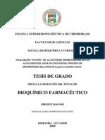 BIOQUIMICA FARMASEUTICA