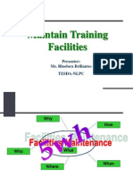 Maintain Training Facilities-Hpp