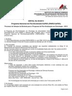 Edital de Bolsa_P�s-Doutorado
