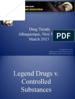 Drug Enforcement Administration Drug Trends March 2013 (Prescription Drugs)