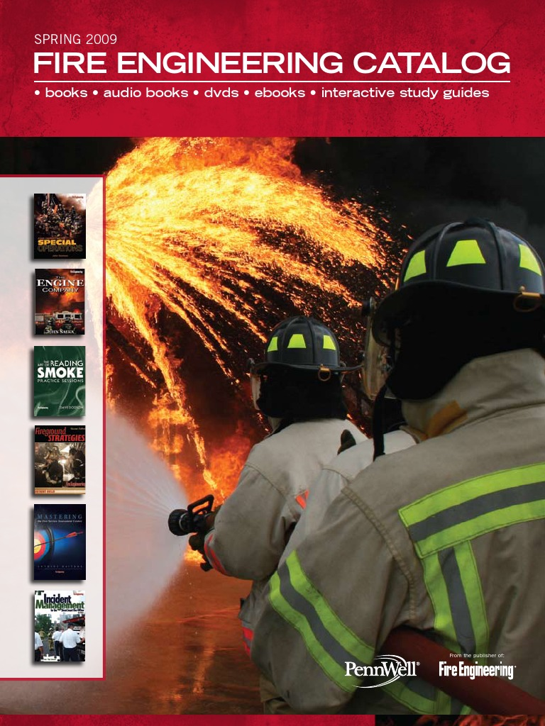 Fire Engineering Books & Videos Spring 2009 Catalog | New York City Fire  Department | Firefighter