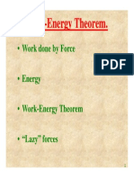 Work Energy Theorem