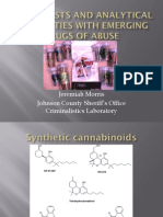 Color Tests and Analytical Difficulties with Emerging Drugs of Abuse