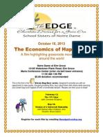 Flyer Economics of Happiness
