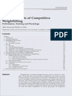 Unique Aspects of Competitive Weightlifting Performance, Training and Physiology