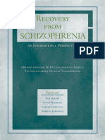 Recovery From Schizophrenia - An International Perspective - A Report From the WHO Collaborative