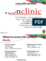 Where To Access HIV Services
